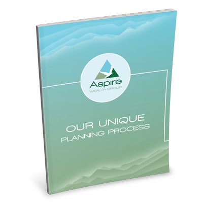 Aspire wealth Our Unique planning process brochure example